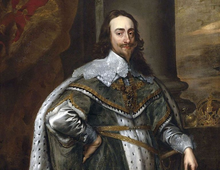 King Charles I, by portraitist Anthony van Dyck.