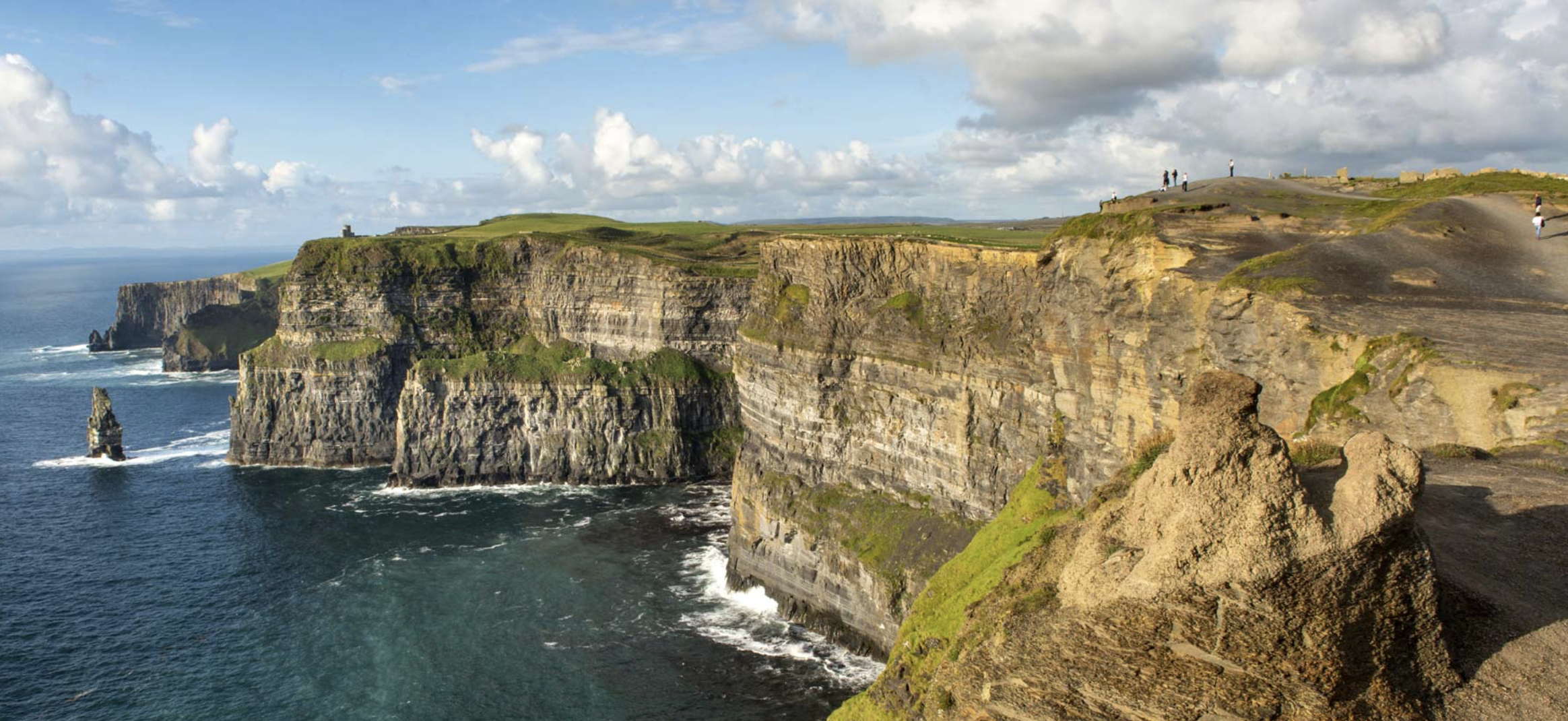 CLIFFS OF MOHER, LOOKING NORTH