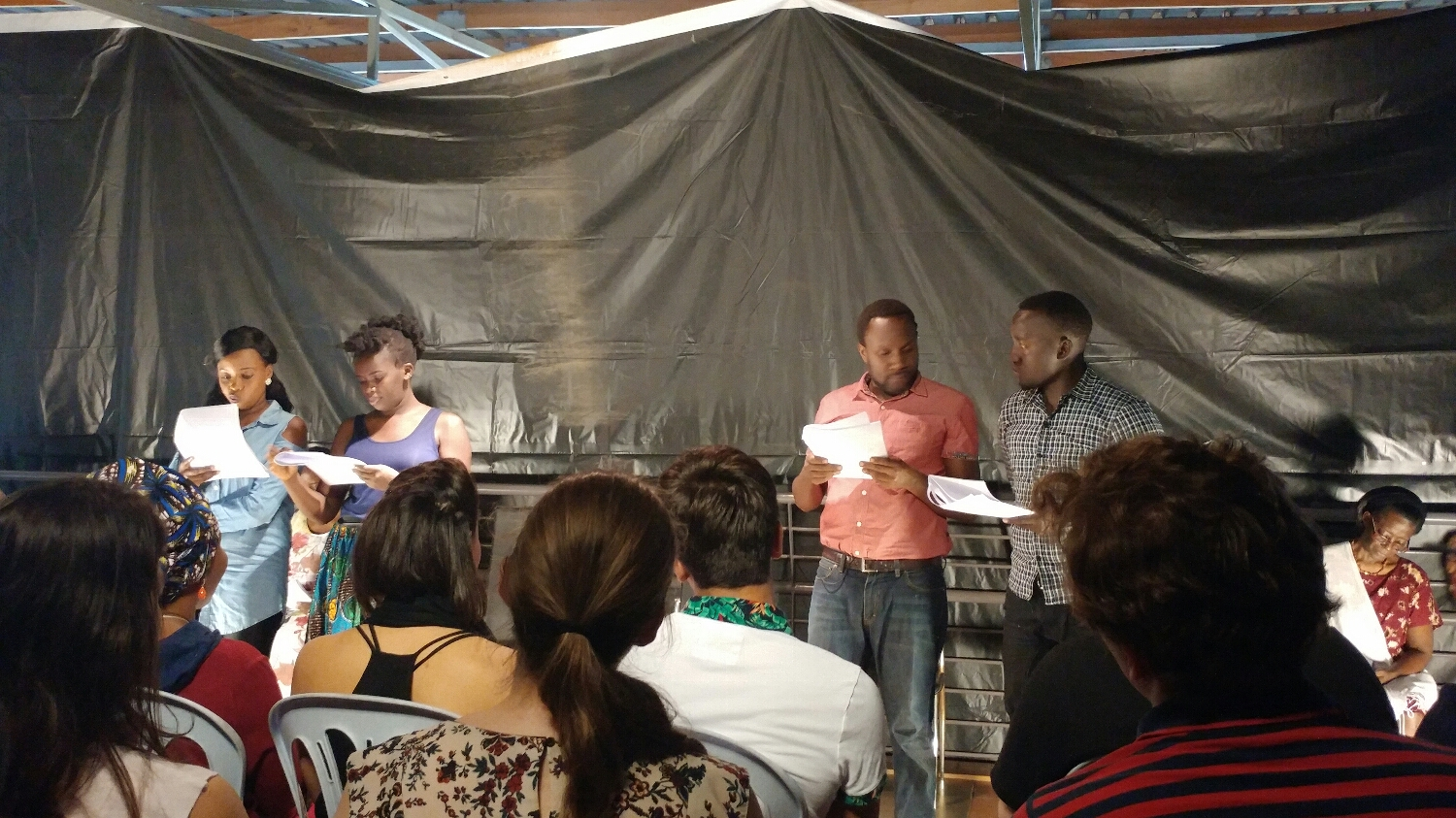 "Staged reading of ""The Surrogate"" by Achiro Patricia Olwoch"