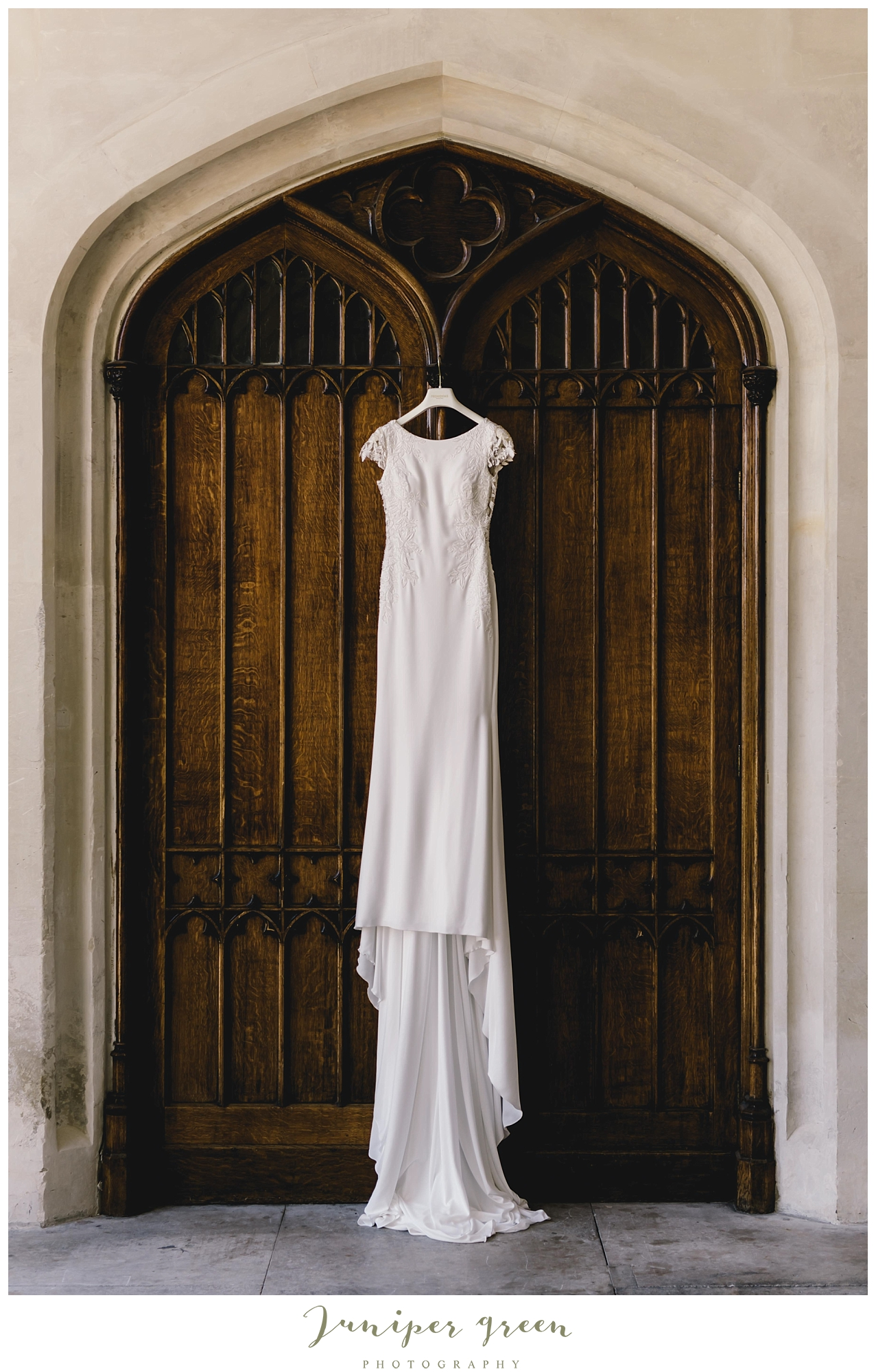 Wedding Dress At Ashridge House