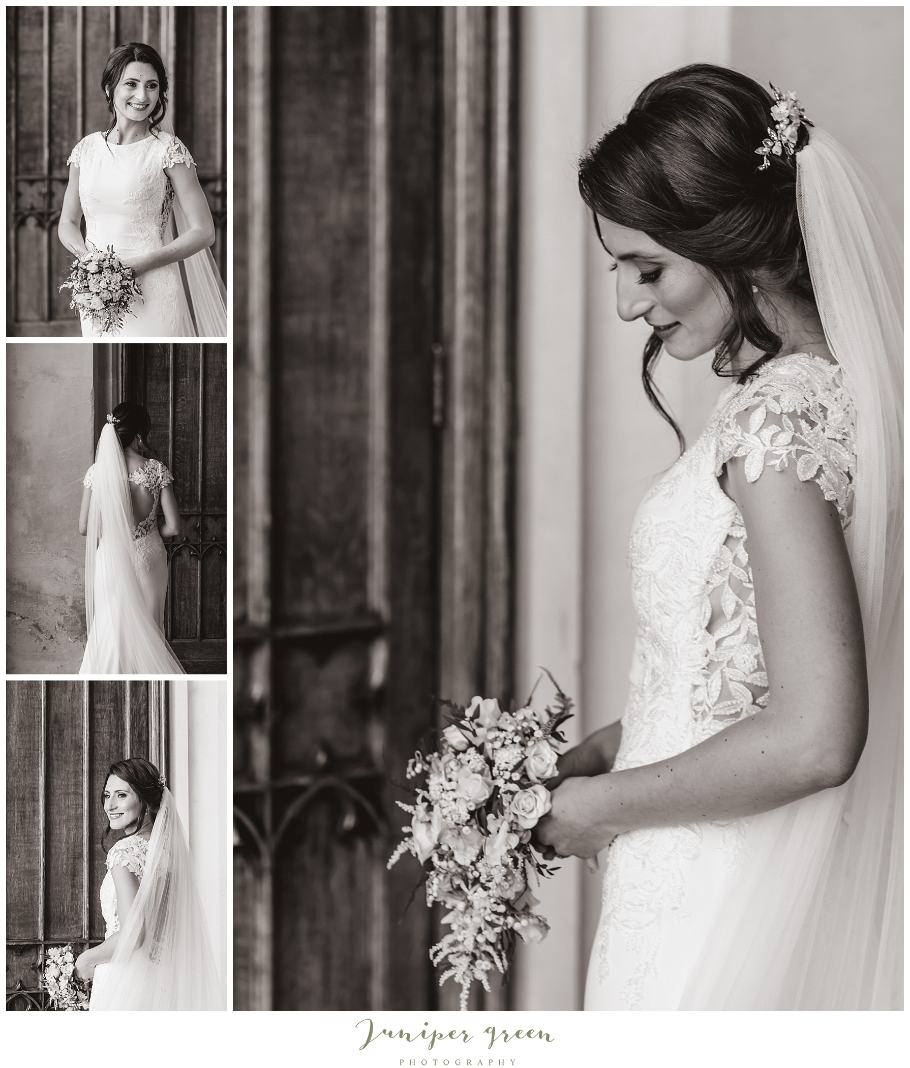 Bridal Portraits at Ashridge House