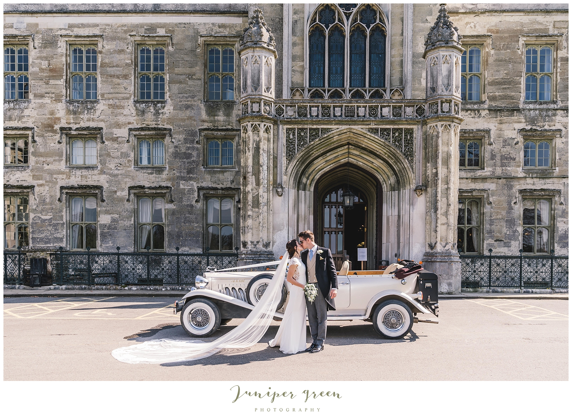 Ashridge House Wedding Car