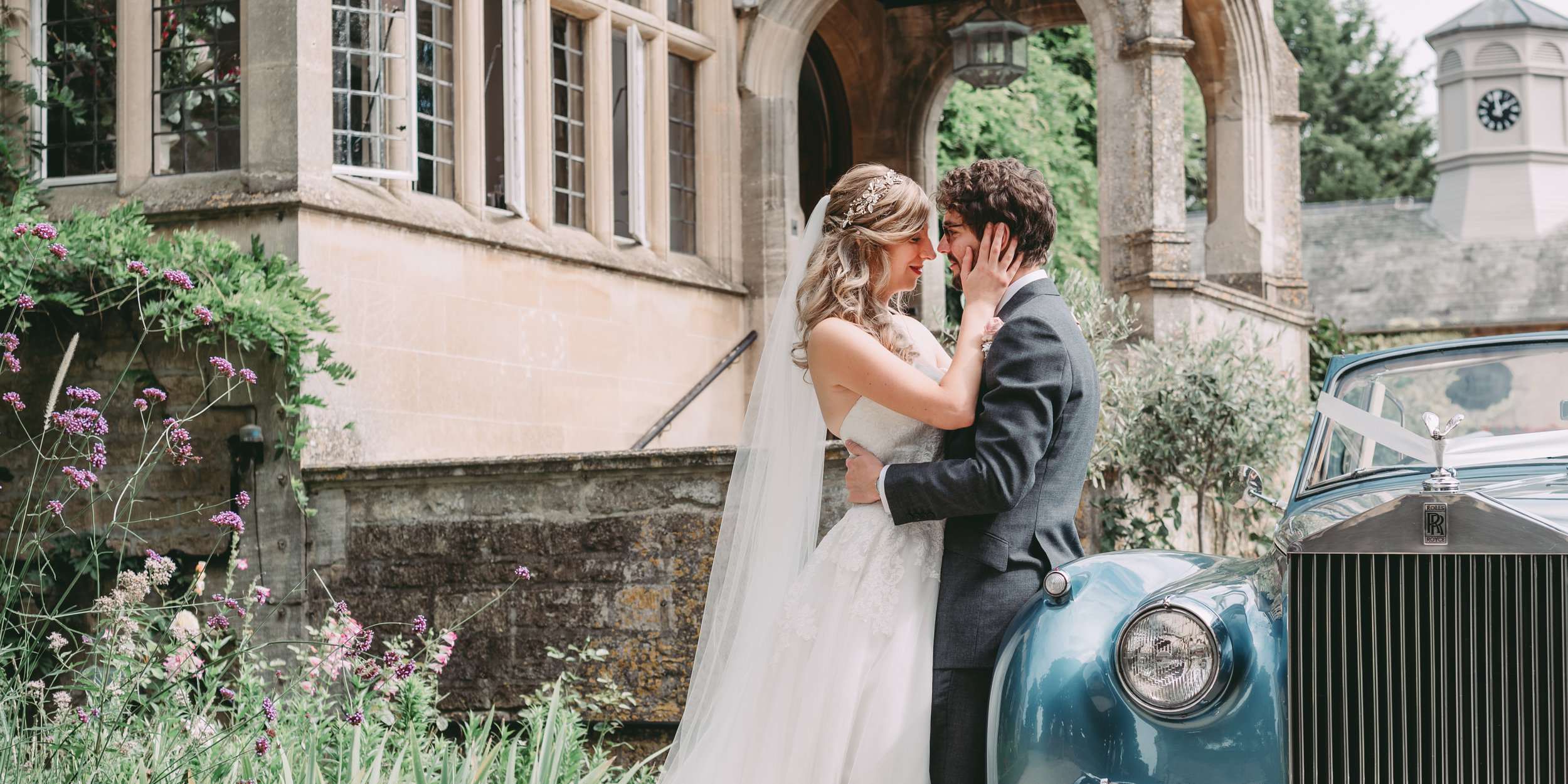 The Slaughters manor house wedding -
