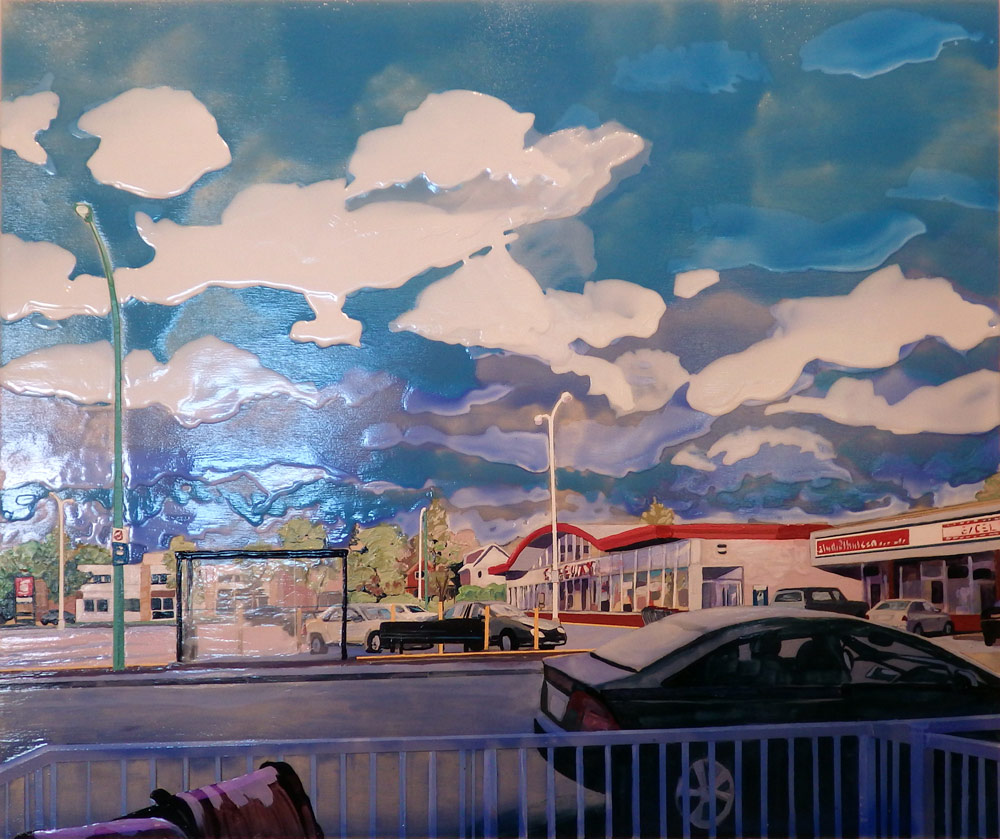 "Late Afternoon 13th Ave, 20"" x 24"", 2013"