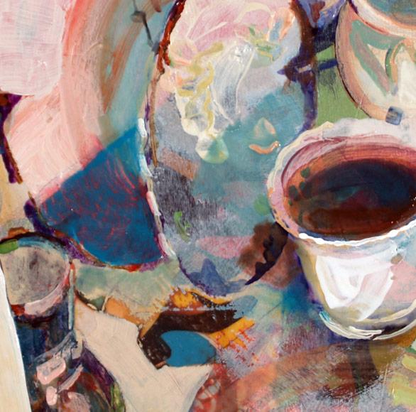 Tea Set detail, 2008
