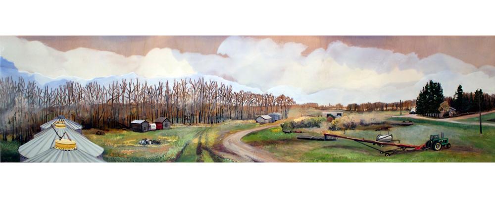 Quiet Stories Farmyard Print