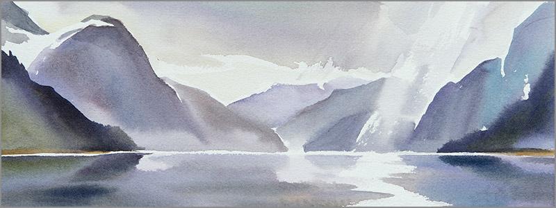 Fiordlands study n.3
