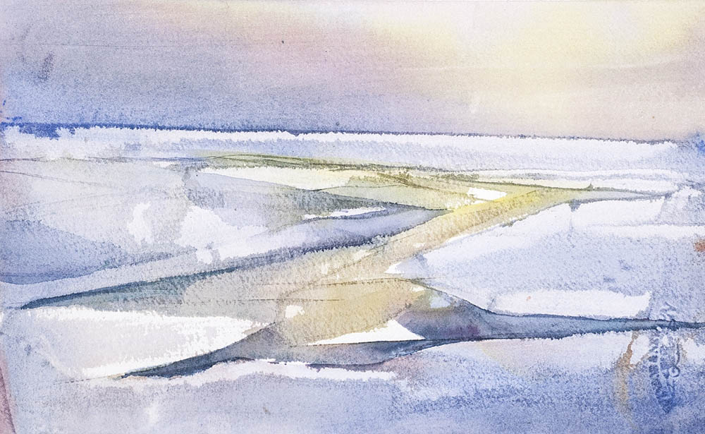 Ice study n.10 (available for sale)
