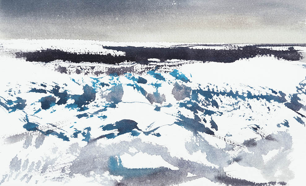 Leaving the pack ice n.1 (available for sale)