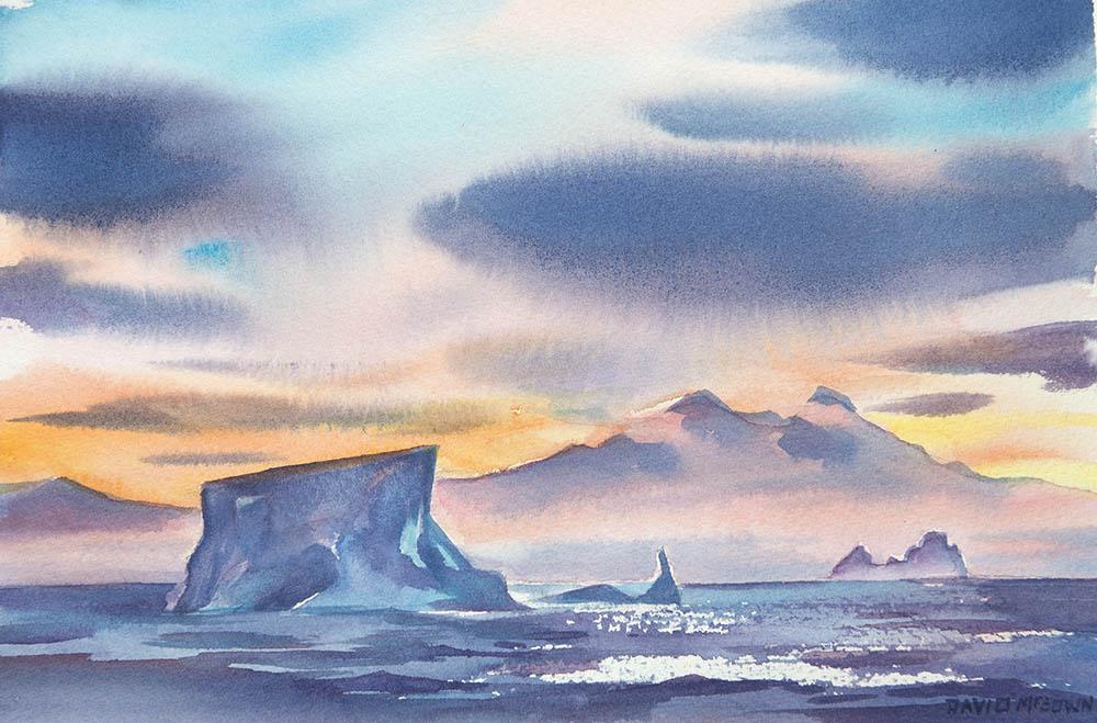 Crossing the Antarctic Circle