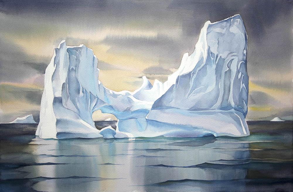 Iceberg reflections n.1 - Greenland