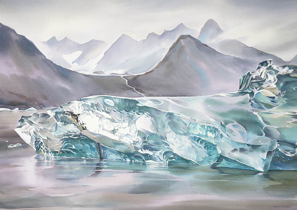 Greenland Ice n.1 (available for sale)