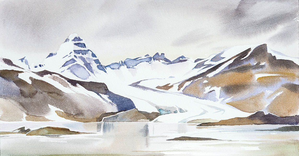 Saefstrom Glacier n.1 (available for sale)