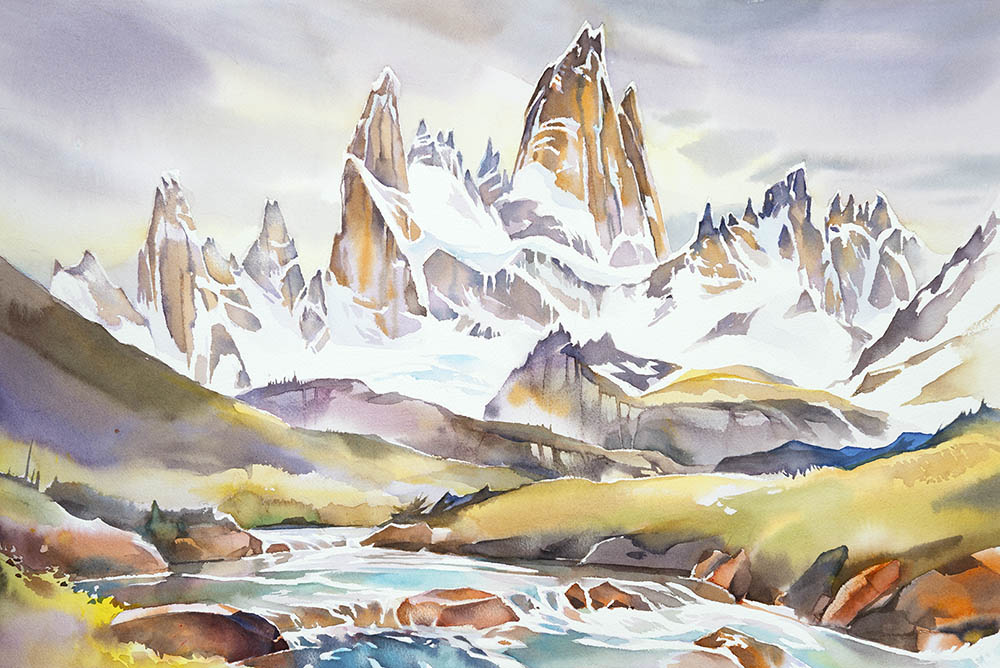 Mt. Fitz Roy (available for sale)