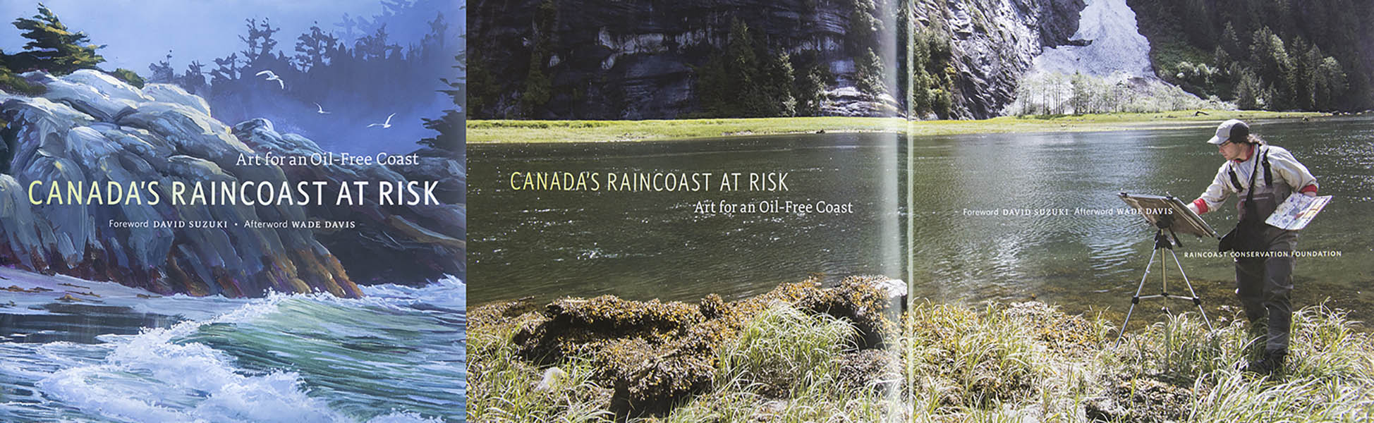 Art for an Oil-Free-Coast - Canada's raincoast at Risk - 2012