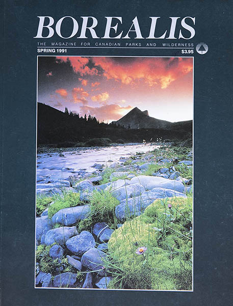 Borealis the magazine for Canadian Parks and wilderness - The Temagami 49 - spring 1991