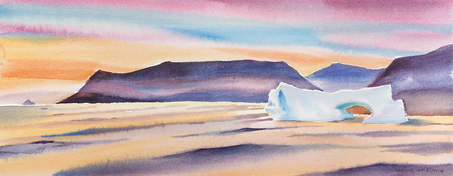 Sunset Disko Island n. 2