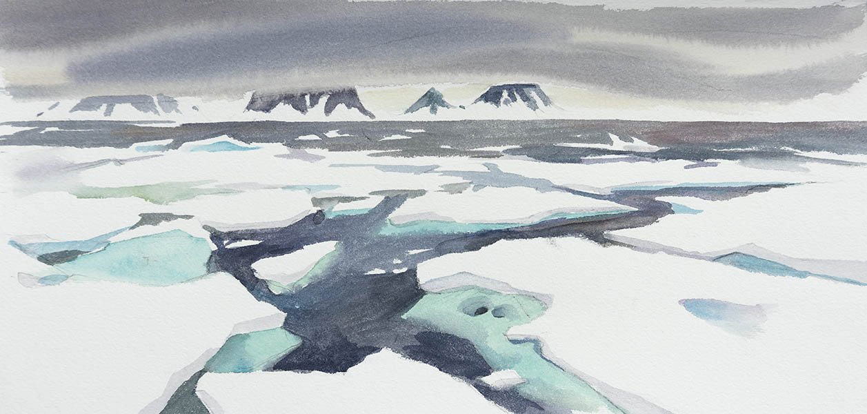 In the sea ice #4