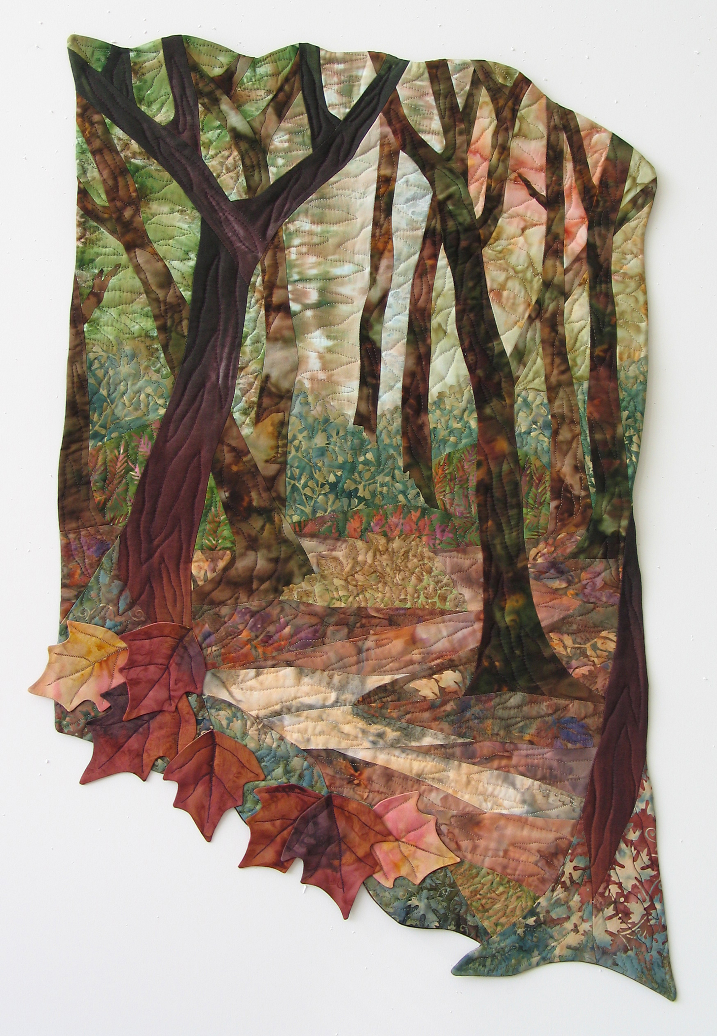 """""""Autums Leafy Path""""(private collection)"""