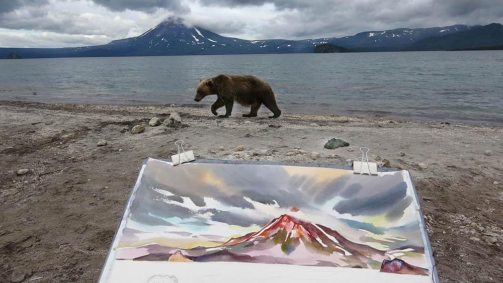 """From Kuril Lake , Kamchatka #1"""