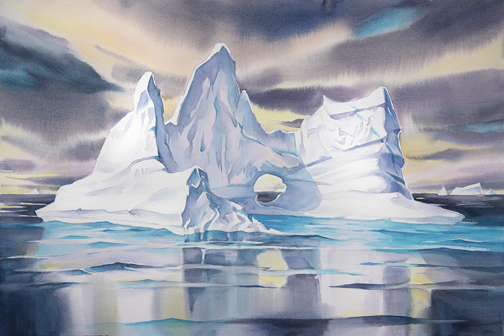 Iceberg Reflections #2 (available for sale)