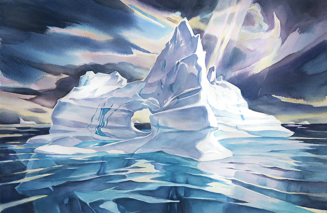 Iceberg #21  (available for sale)