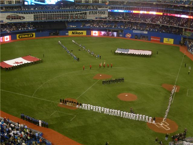 """Toronto Blue Jays home opener, 2010"" by Blue JaysFan32"