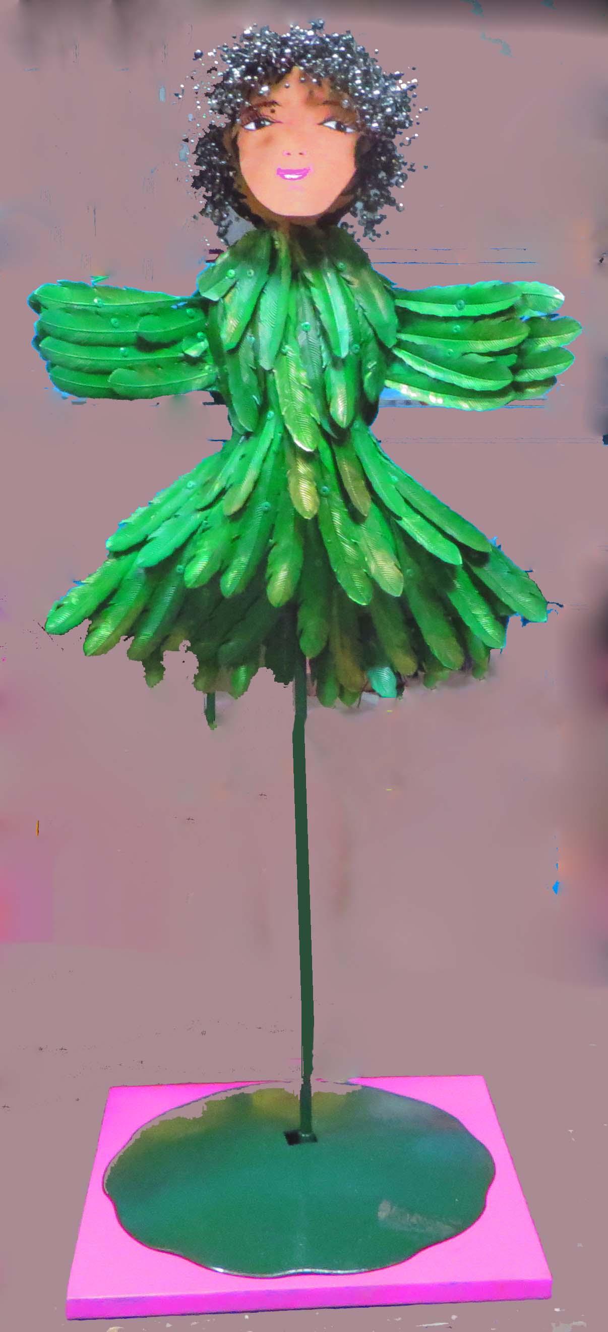 Bird, 2014, 4' tall