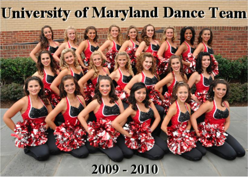 Dance Team 2009 - 2010