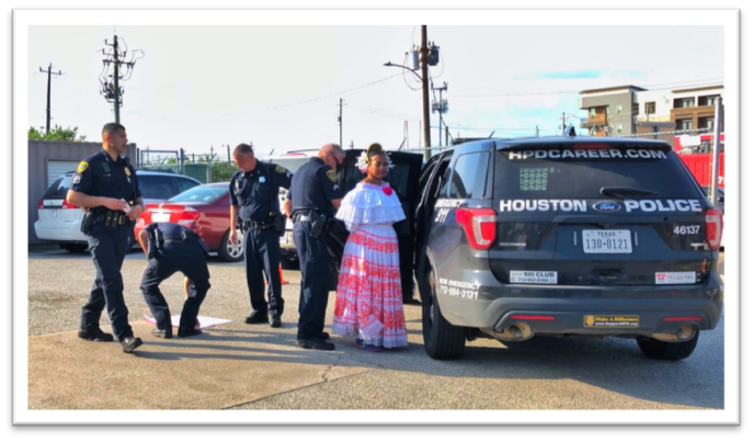 Maya Ford Arrested in Civil Disobedience