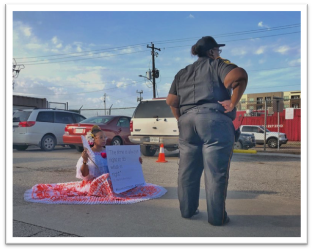 Silent Protest @ Southwest Key