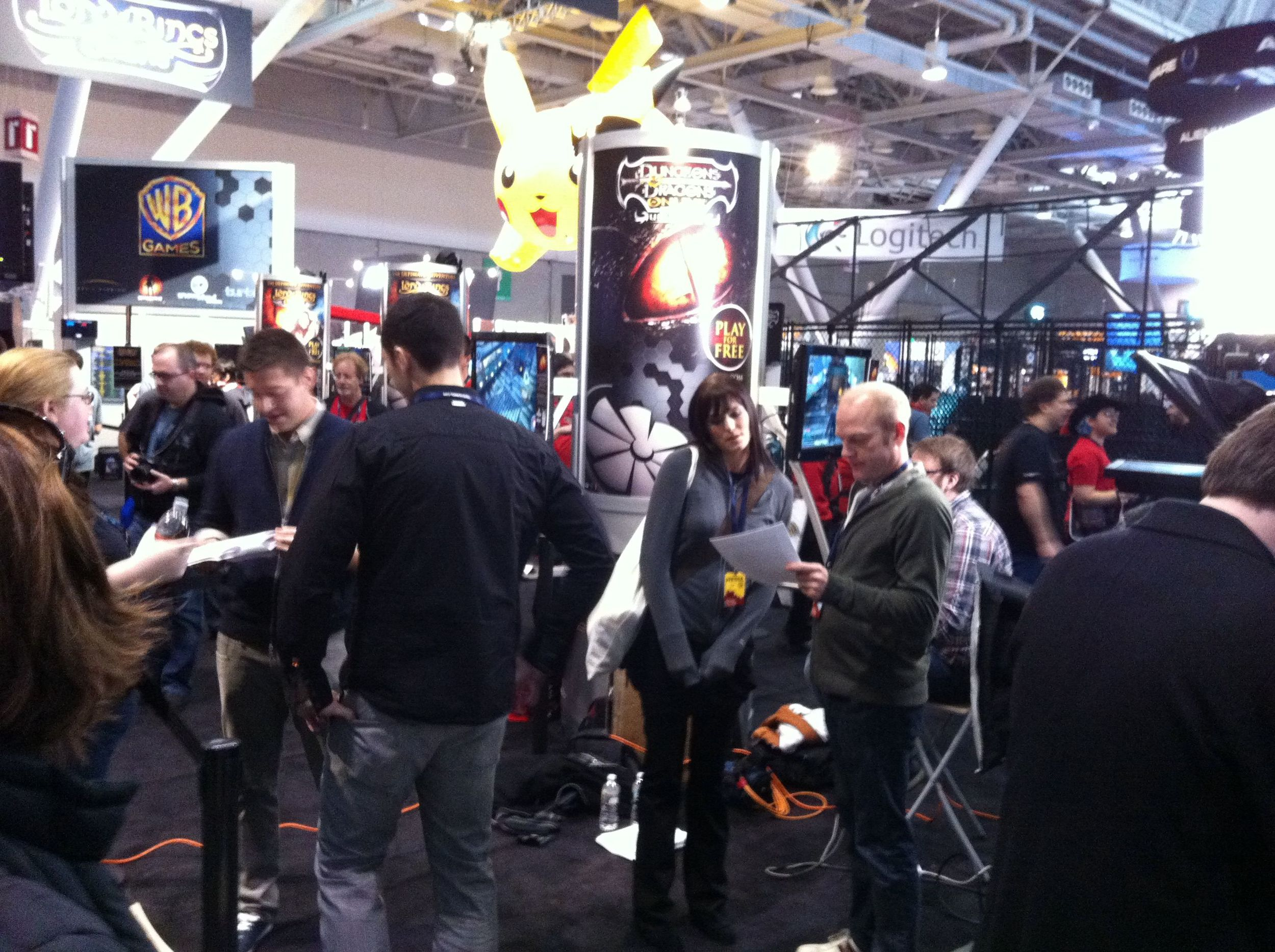 turbine booth at pax east 2011