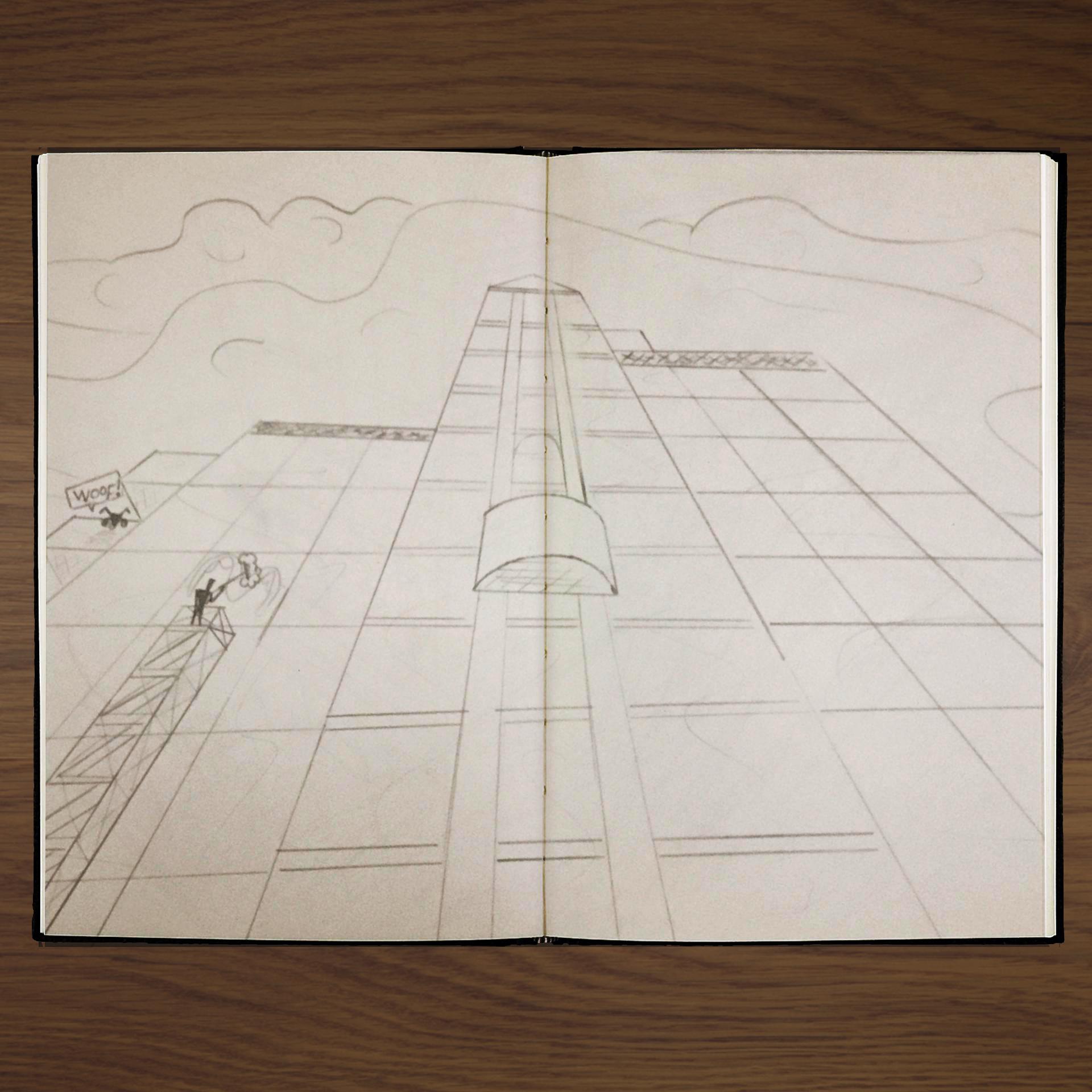 Perpective Drawing - Pencil