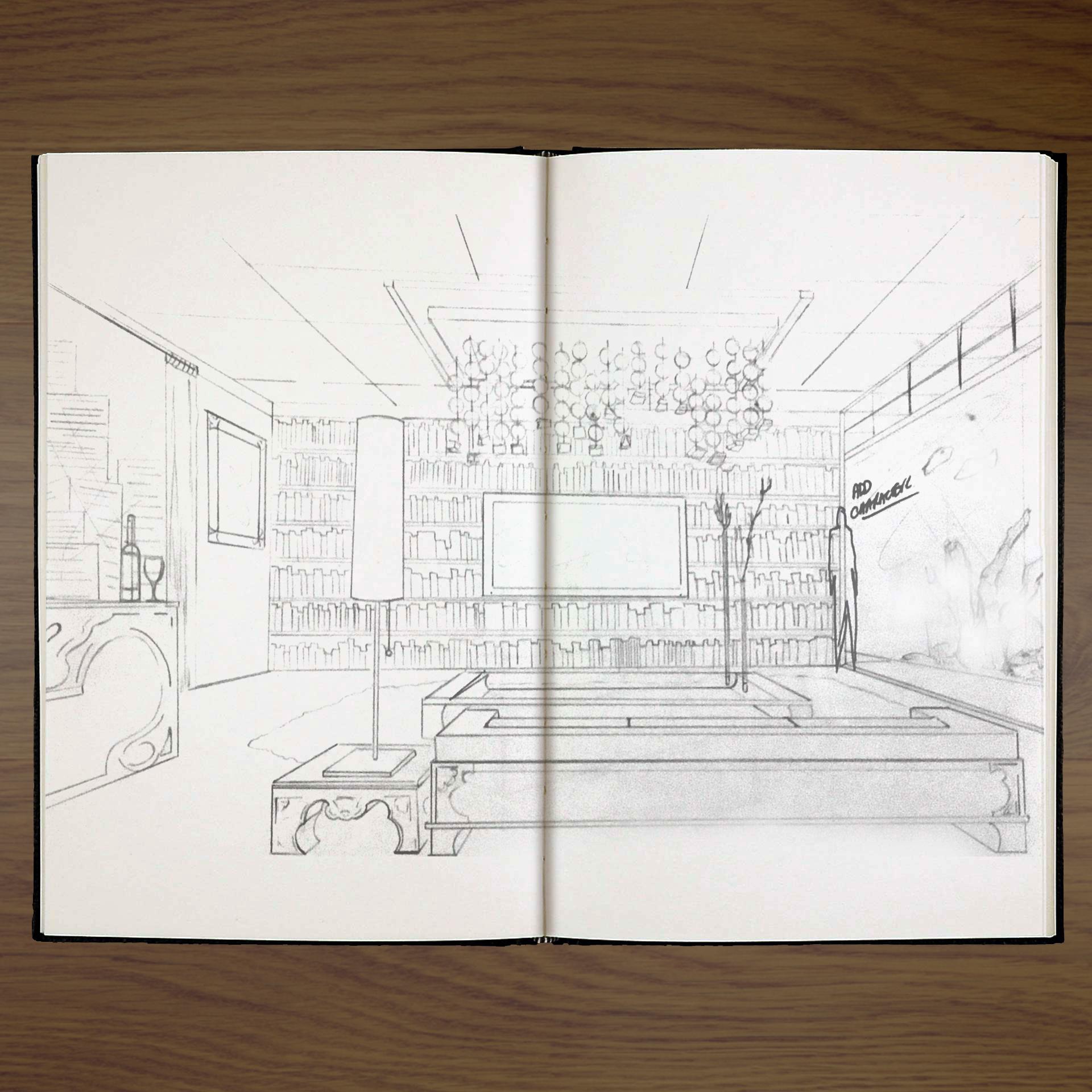 Room Concept - Pencil