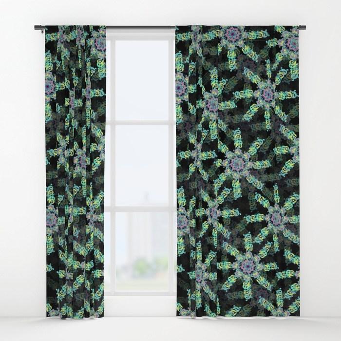 Window Curtains   - Society 6