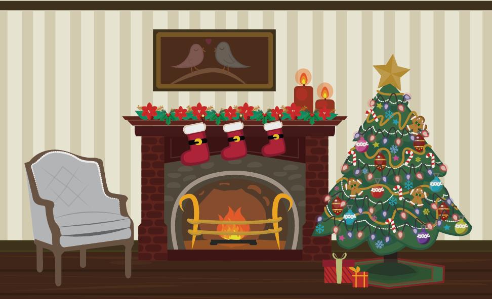 """Pink Lemonade"" - Rowdy Nature - Christmas BG - Vector"