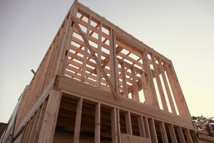 Framing-two story addition - - Vutt Optical