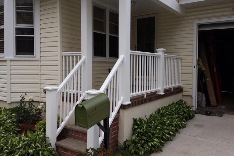Porch Upgrade - - With AZAK Materials