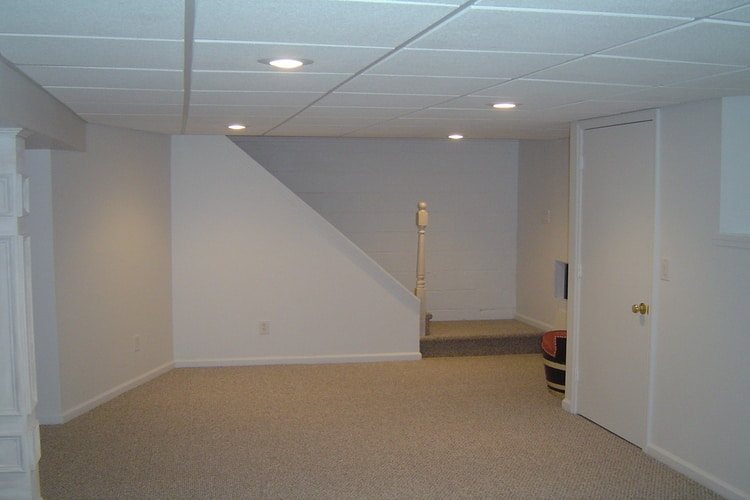 Basement Finishing - - with custom woodwork