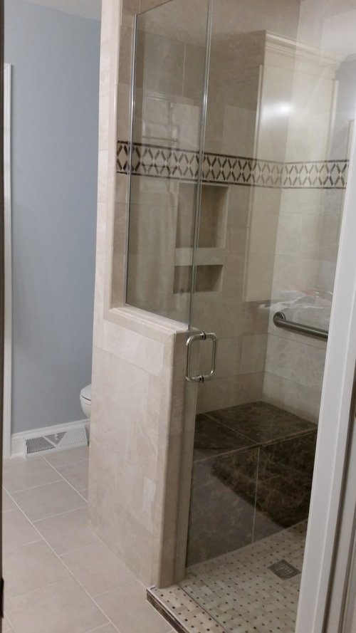 Remodel - master bath with custom shower and cabinets.jpg