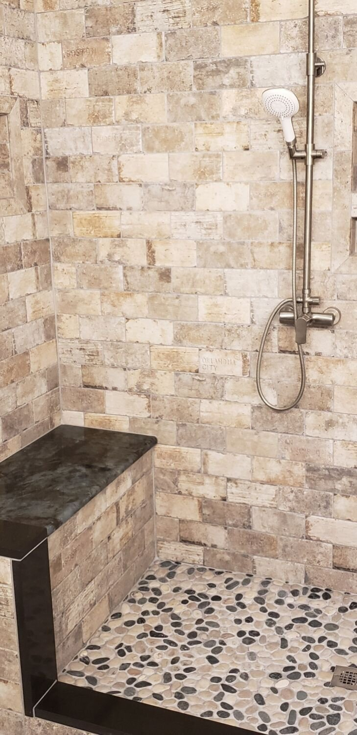 The beauty of natural stone can often out weigh the addition time needed to keep them clean.