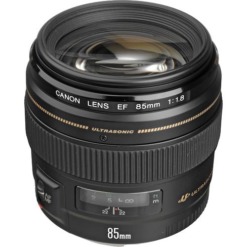 Canon 85mm f/1.8 USM -