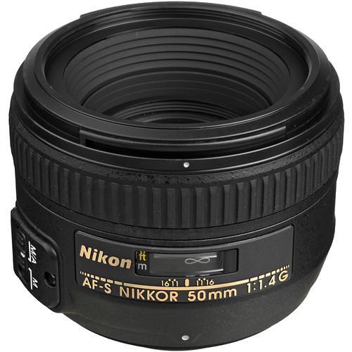 Nikon 50mm f/1.4 -