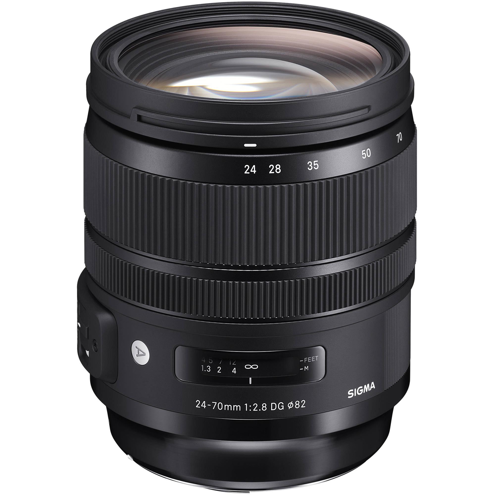 Nikon Sigma Art 24-70mm f/2.8 -