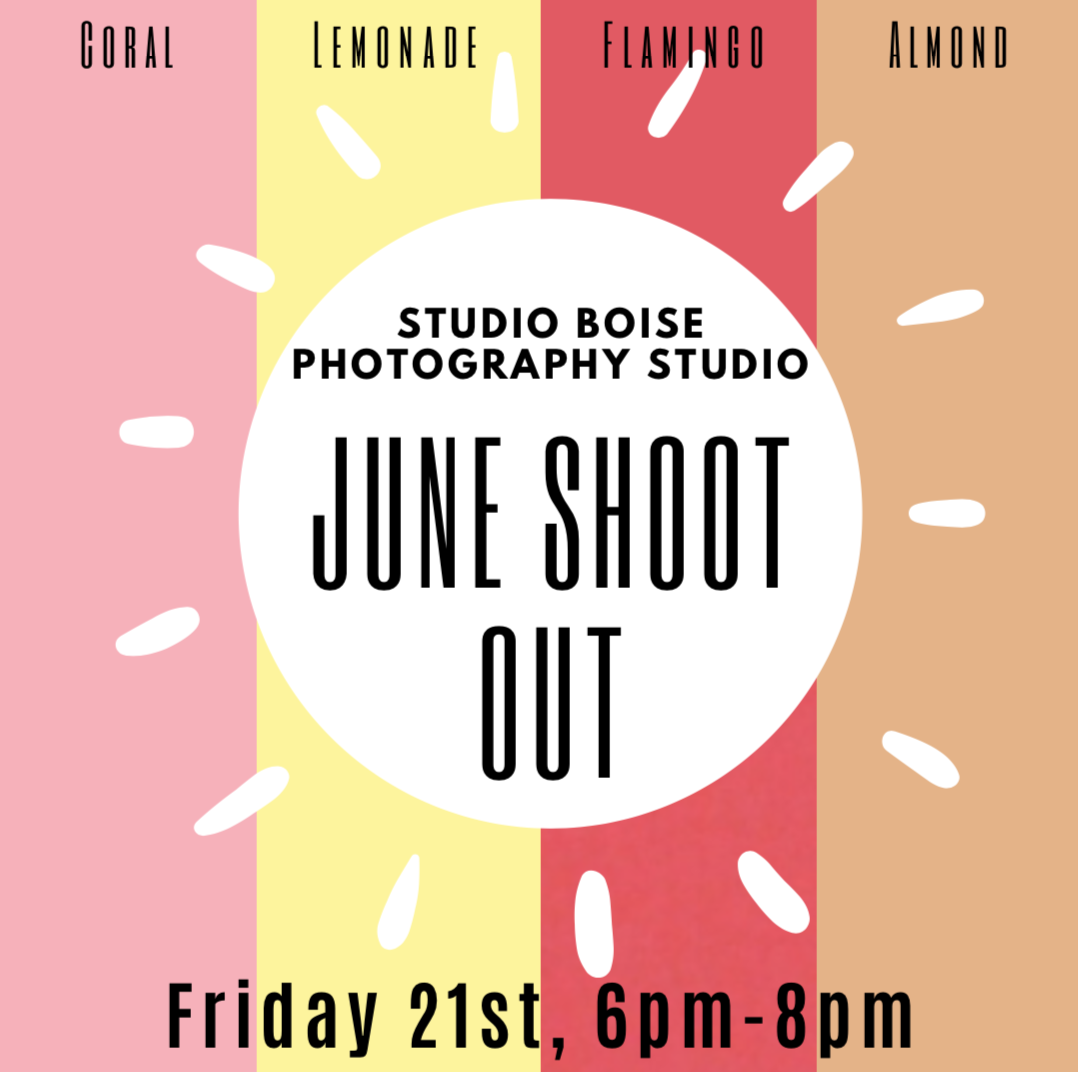 Studio Boise photography Center monthly shoot out