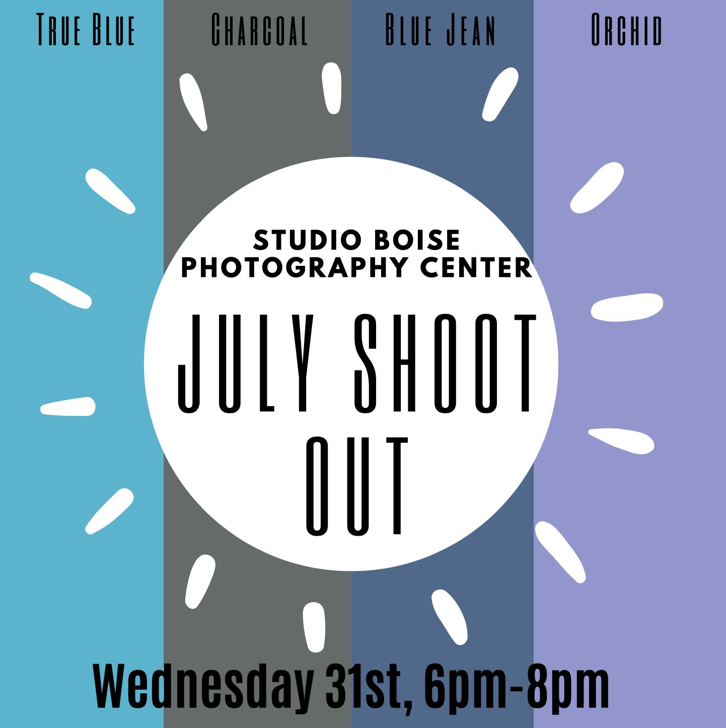 Studio Boise Photography Center Events