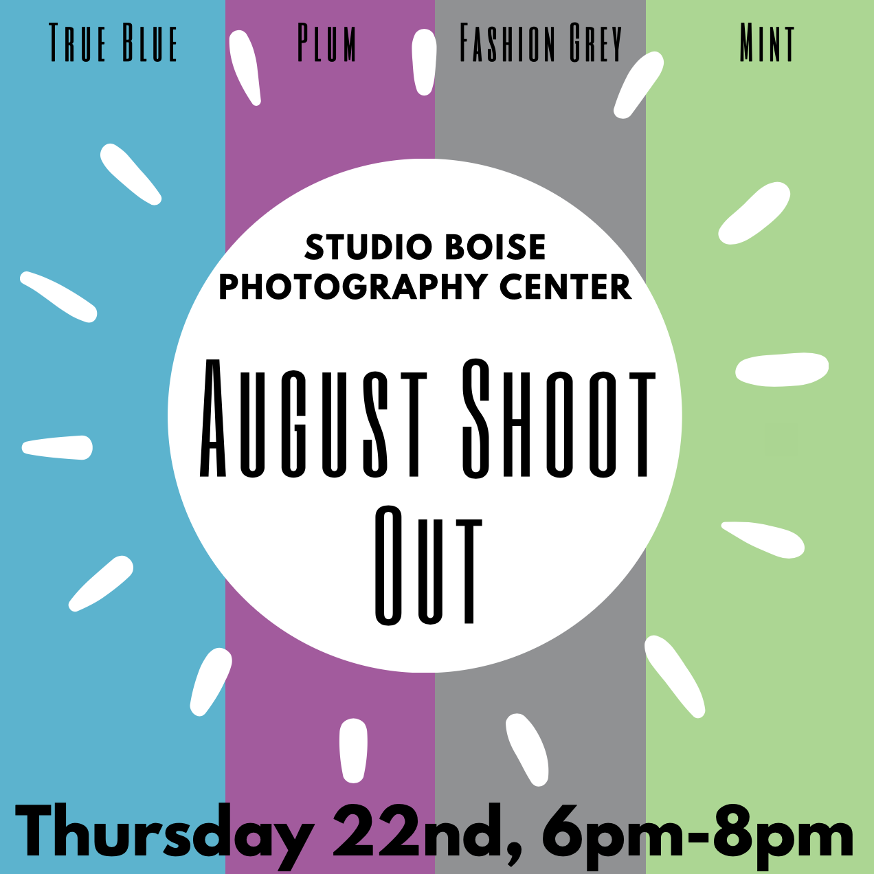 Studio Boise Photography Center August Shoot Out
