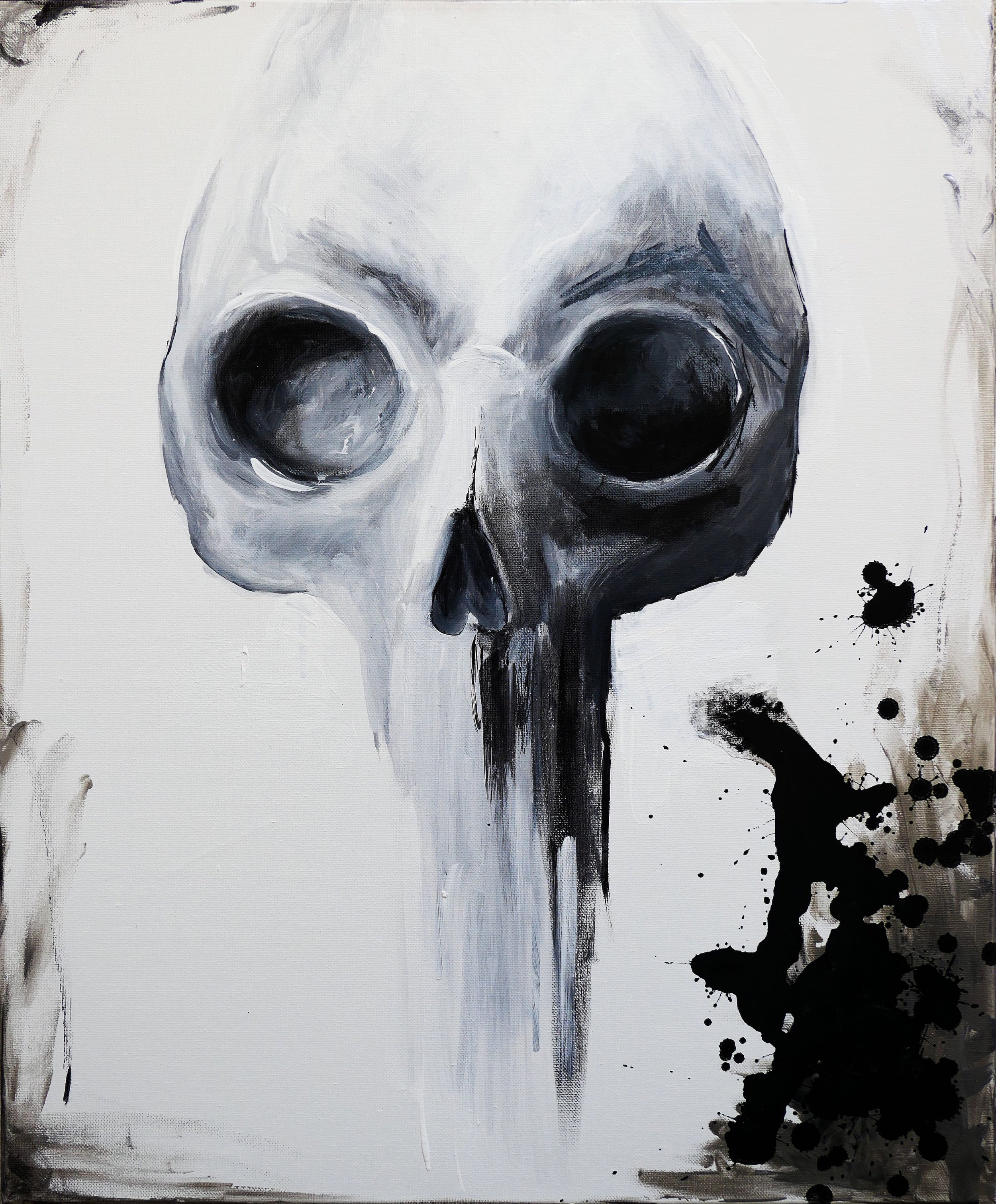 SKULL by Heather Grace Hancock