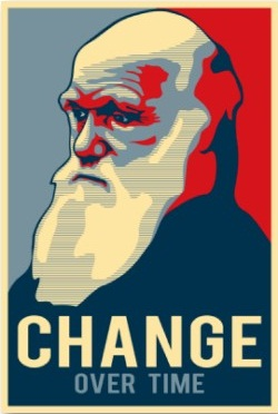 You're a good man, Charlie Darwin.