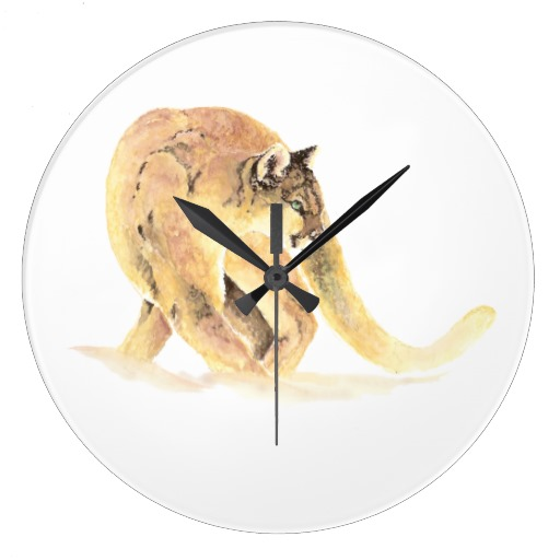 The clock that startles you every. single. time.